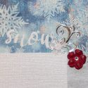 Winter Wonderland Scrapbook Page